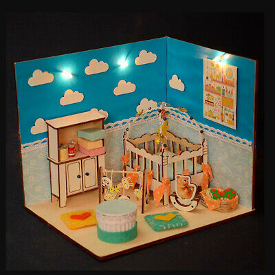 1//12 Dollhouse toy model miniature lamp for kids best birthday gift FBDU