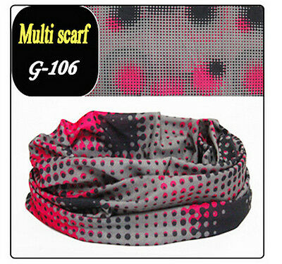 60Color Magic Head Face Mask Snood Bandana Neck Outdoor Warmer Wrap Shawl Scarf