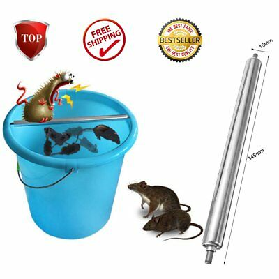Mouse Trap Log Roll Into Bucket Rolling Mice Rat Stick