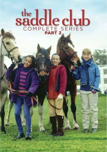 The Saddle Club: The Complete Series  (DVD MOVIE)