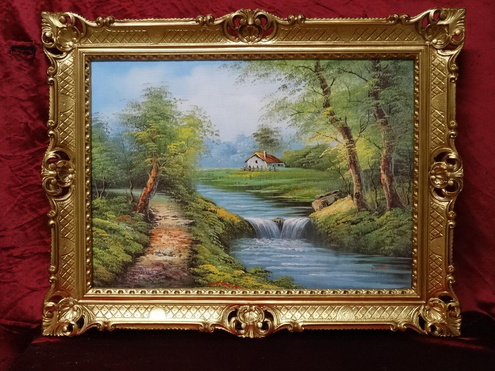 Exklusiv Bilder Reproproduktion Kunstwerke von zeitgenössischen Malern 90x70 154