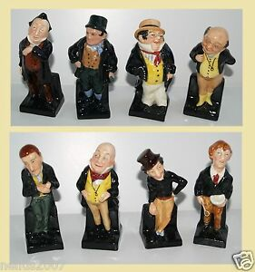Doulton-Charles-Dickens-Bill-Sykes-Captain-Cuttle-Jingle-Uriah-Heep-Micawber