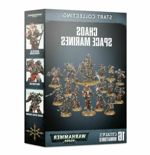 Chaos Space Marines Warhammer 40k Start Collecting