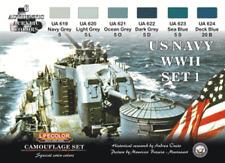 Lifecolor U.S. NAVY SECONDA GUERRA MONDIALE SERIE 1 (22ml x 6) cs24