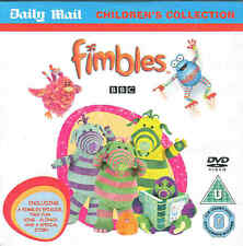 FIMBLES - 1 GREAT EPISODE, 2 FUN SING-ALONGS + A SPECIAL STORY - DVD