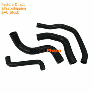 Black-Silicone-Hose-Pipe-Kits-For-Ford-Falcon-EF-EL-6CYL-4-0L