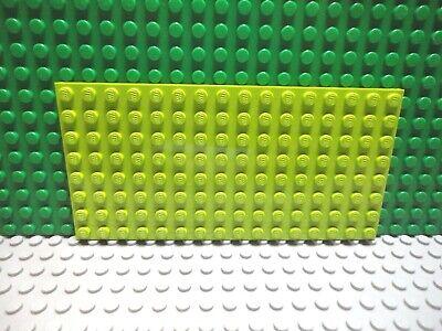 Lego 1 Medium Azure 8x16 base plate 2.5 x 5 inch Square corners NEW