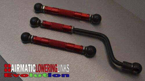 LINKS MERCEDES E CLASS W211 E550 E55 E63 EVOLUTION LOWERING KIT LINKAGES