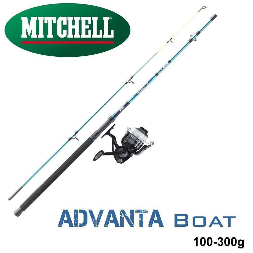 MITCHELL Meresangel Advanta Boat Boat Advanta Combo   Rute :2,40M  +  Rollle: ADV-60 FD Alu 07c451
