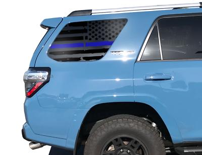 4Runner USA Flag Decals fits Rear window 1995-2002 Toyota 4Runner TRD Pro FR7