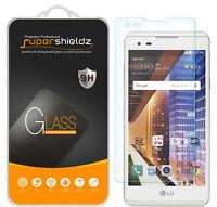 3x Supershieldz Lg X Style Tempered Glass Screen Protector Saver