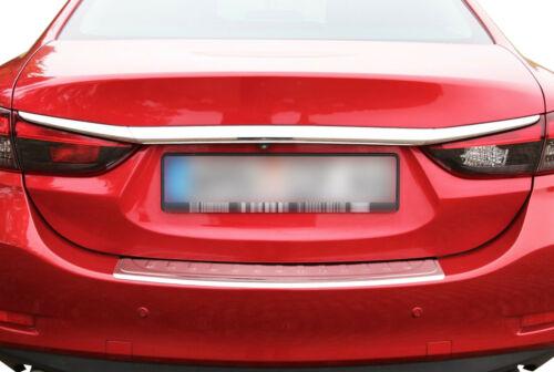 LADEKANTENSCHUTZ Edelstahl MATT Leiste Schutz für Mazda 6 GJ GL ab 2012