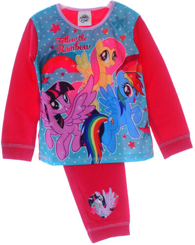 Schlafanzug My Little Pony Baby Kinder Pyjama SET 80 86 92 98 104 110 Hose