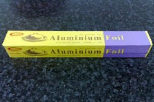 Kitchen Aluminium Tin Foil - Food Catering  300mm x 75m - Catering Size