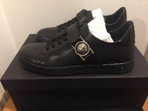7 8 6 Tailles Tops Versus Noires Baskets 10 Noir Baskets Versace Baskets Uk qA6vOP