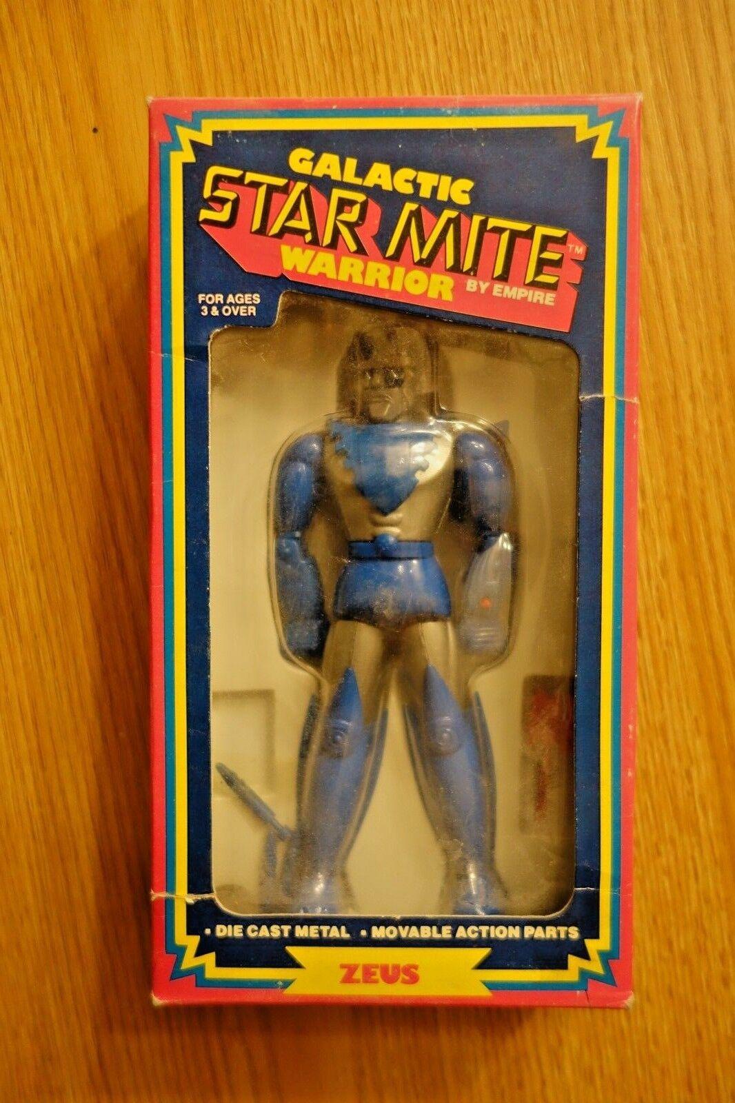 RARE   Vintage DieCast Galactic estrella Mite ZEUS Warrior Empire giocattoli  vendita economica