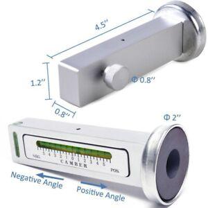 Adjustable-Car-Truck-Magnetic-Gauge-Tool-Camber-Castor-Strut-Wheel-Alignment-UK