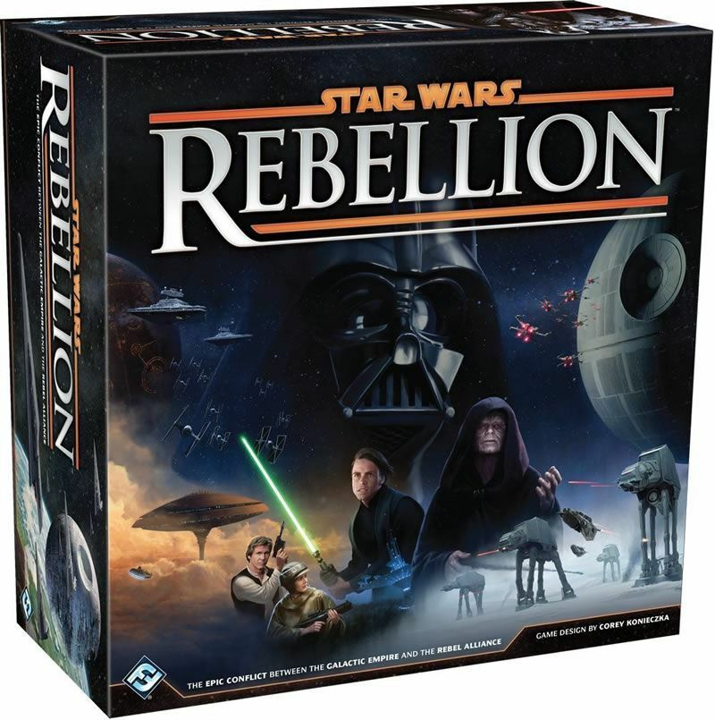 STAR WARS REBELLION BOARD GAME 2 TO 4 PLAYERS