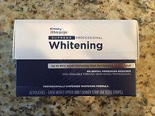 Crest Whitestrips Supreme Professional Whitening 84 Strips 03/18
