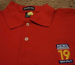 Details about Men's News Weather Channel 19 WHNT CBS Huntsville AL Polo  Shirt Medium