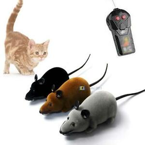 Remote-Control-RC-Rat-Mouse-Wireless-For-Cat-Dogs-Pet-Funny-Toys-Novelty-Gift-SA