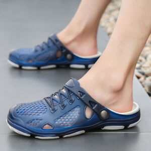 Men/'s Water Sandals Beach Shoes Clogs Outdoor Sport Weaving Slippers 2019 Hot