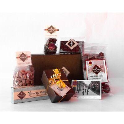 Pacco Cioccolatoso - Tartuffi Neri 350g, Cioccolatini Misti Ripieni 120g, Torron