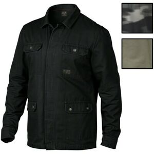 Oakley-Men-039-s-The-Dawn-Shacket-Button-Front-Shirt-Jacket