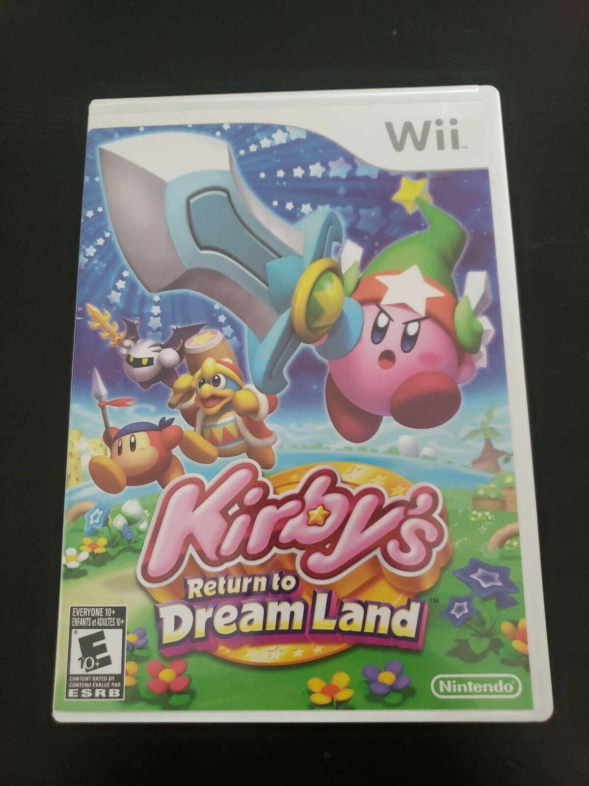 Kirby S Return To Dream Land Nintendo Wii 2011 For Sale Online Ebay