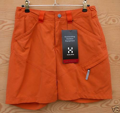 Haglöfs Lite Q Shorts for Ladies, Size XS, Lava