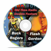 Buck Rogers, Flash Gordon, The Avenger, 215 Old Time Radio Shows Mp3 Dvd F79