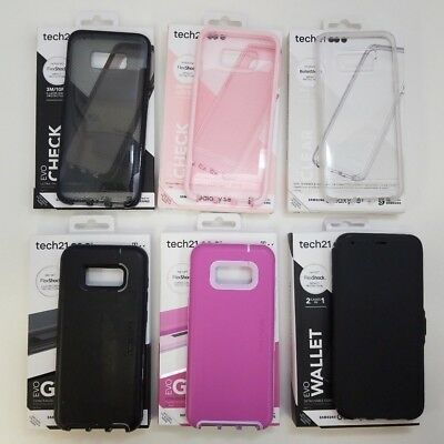 more photos 5b47c 77a98 For Samsung Galaxy S8+Plus, Tech21 Case, EvoCheck, EvoWallet, EvoGo, Pure  Clear | eBay