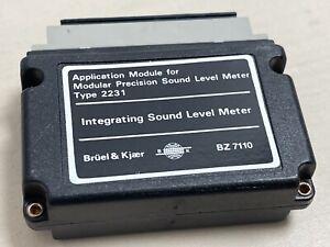 Bruel-amp-Kjaer-BZ7110-Application-Module-for-Sound-Level-Meter