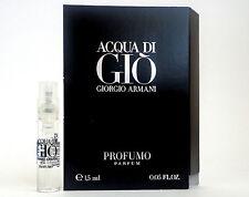 ACQUA DI GIO PROFUMO PARFUM by GIORGIO ARMANI 1.5ml .05oz Cologne Mini Spray x1