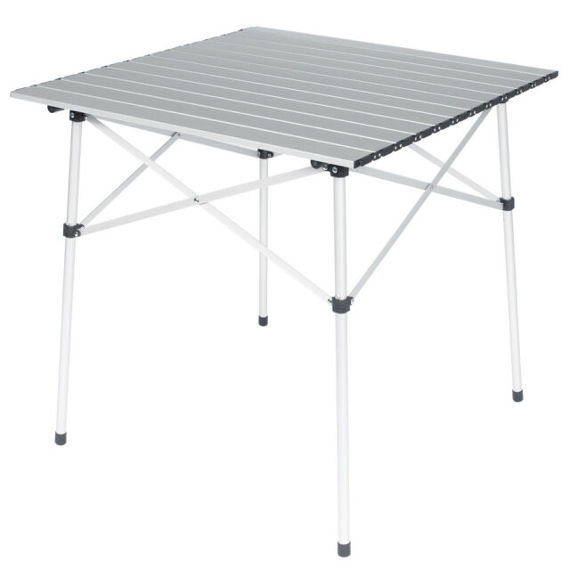 NEW Spinifex Square Aluminium Folding Table By Anaconda