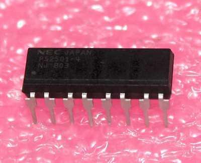 50 PCS PS2501-4 DIP-16 2501-4 PHOTOCOUPLER SERIES