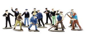 OO-Figures-39-Railway-Workmen-station-trackside-etc-Dapol-Kitmaster-C002