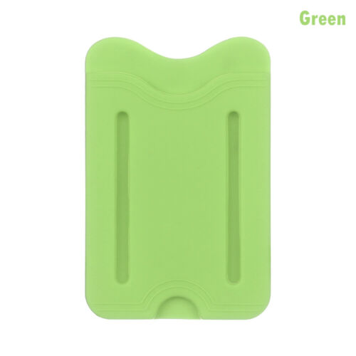 Universal Silicone Stick Adhesive Phone Card Holder Card Pocket Card Case