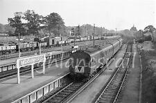 ORIGINAL 35mm BRITISH RAILWAY NEGATIVE OF 1126 @ BROCKENHURST + COPYRIGHT