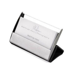 Details About Troika Visitenkartenetui Business Card Stand Cdc15 04 St Magnetic Fastening