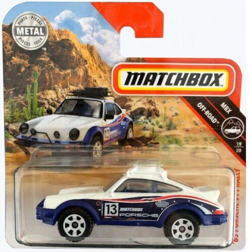 Matchbox Modell NEU /& OVP 1985 Off-Road Porsche 911 Rally