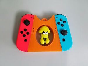 Details about Splatoon 2 Nintendo Switch Extended Joy Con Controller Grip -  ORANGE joycon