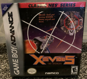 Xevious-The-Avenger-Gameboy-Advance-GBA-CIB-Complete-Authentic