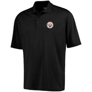 bf162755e Pittsburgh Steelers Antigua NFL Men s Pique Xtra-Lite Polo Golf ...