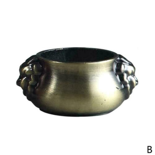 5737 Räuchergefäß aus reinem Kupfer Räucherstäbchenhalter Kegel für Zuhaus E3M6