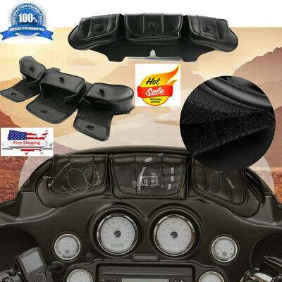 Motorcycle Fairing Bag With Phone Holder Fit For Harley-Davidson 4129 1996-2013
