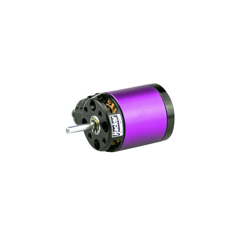 Motor Brushless A20-12 XL Evo 14 Pines Externo 1039Kv 12 Turns 40a Hacker MO