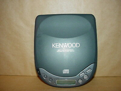 Kenwood Portable Disc Player Model Dpc-171 Good Tested