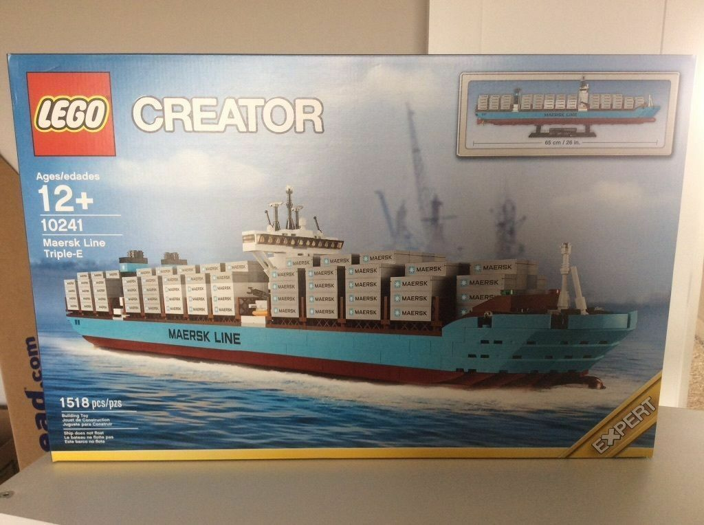 LEGO Creator 10241 Maersk line trip-E container ship new new new SEALED 153cd2