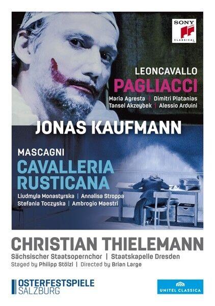 Leoncavallo: Pagliacci - Mascagni: Cavalleria Rusticana, 2 DVDs